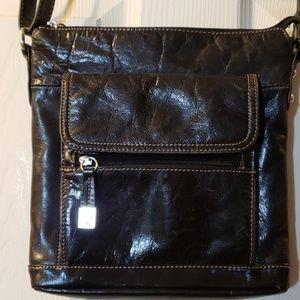 Giani Bernini Crossbody Leather